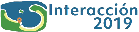 Logo of the 20th International Conference on HCI, Interacción 2019