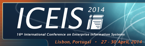 Logo of the 16th International Conference on Enterprise Information Systems (ICEIS).